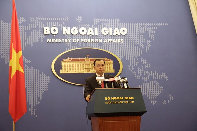 Ministry of Foreign Affairs spokesperson Le Hai Binh. Photo: Le Quan