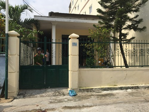 The house where the Chinese man lives with his Vietnamese wife. Photo: Nguyen Tu
