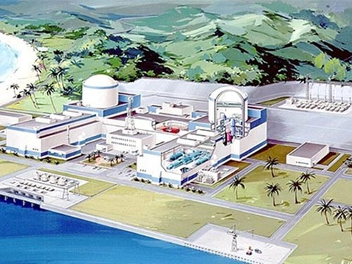 A rendering of the Ninh Thuan 1 Nuclear Power Plant. Photo credit: VnExpress