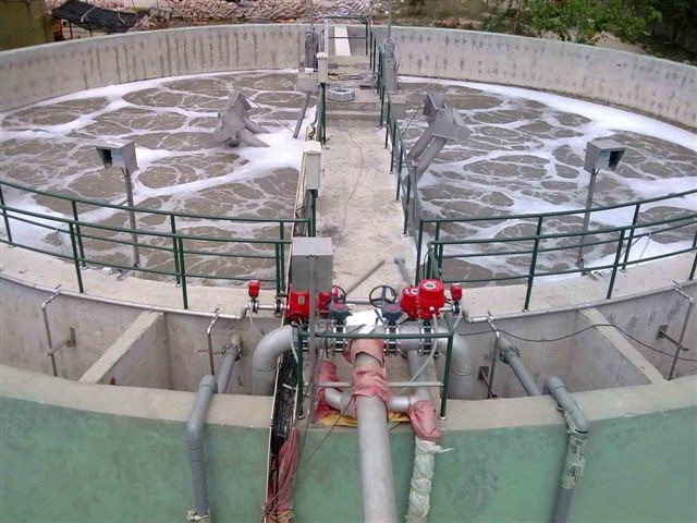 A waste water treatment project conducted by SFC Vietnam Investment Development for Environment Corporation in Vietnam. Photo from the company's website