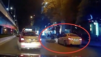 Hanoi police search for car driver in filmed double hit-and-run