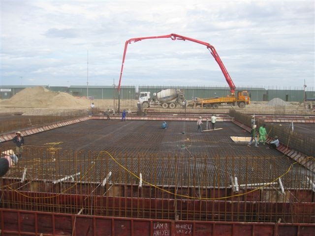 A photo from SFC Vietnam's website shows a waste treatment project developed by the company