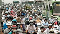 Ho Chi Minh City now has 7.4 million motorbikes, and counting