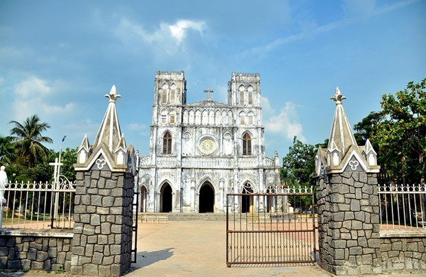 Mang Lang Church, a gem in central Vietnam