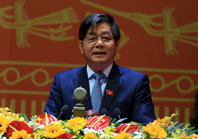 Minister of Planning and Investment Bui Quang Vinh. Photo: Luu Quang Pho