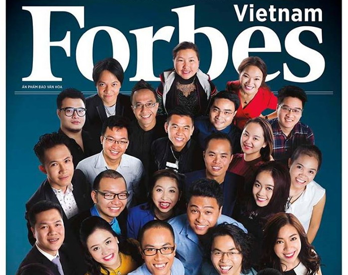 Forbes Vietnam issues '30 Under 30' list | Education/Youth | Thanh Nien  Daily