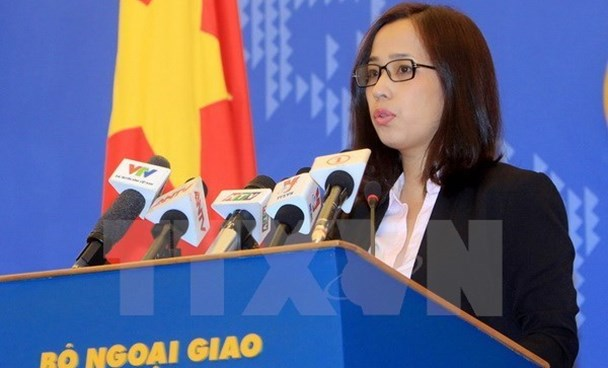 Ministry of Foreign Affairs' deputy spokesperson Pham Thu Hang. Photo credit: VNA