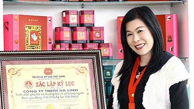 Ha Thuy Linh in a file photo supplied by her family.