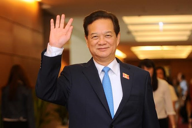 Prime Minister Nguyen Tan Dung officially stepped down from the position in a National Assembly session on Wednesday. Photo: Thai Son