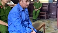 Vo Van Rang stands trial in Ho Chi Minh City. Photo credit: VnExpress