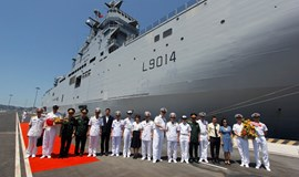 French naval ship makes Vietnam port call