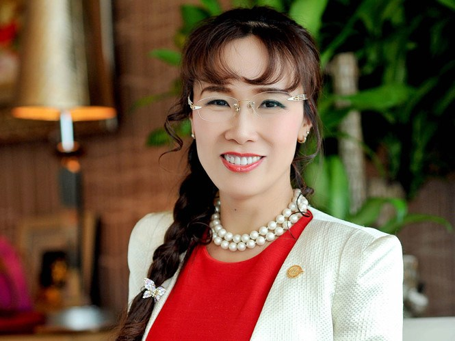 Nguyen Thi Phuong Thao, CEO of VietJet Air. Photo credit: Bloomberg