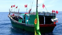 6 Chinese fishing boats violate Vietnamese waters