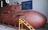 Vietnamese submarine presented to public in trial launch