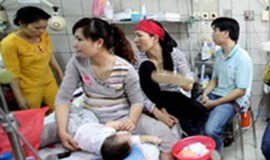 Crowded hospitals could be spreading measles in Vietnam