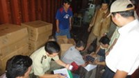 Vietnamese police seize 14 more containers registered to suspected smugglers