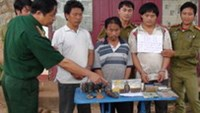 Four arrested smuggling drug to Vietnam from Laos