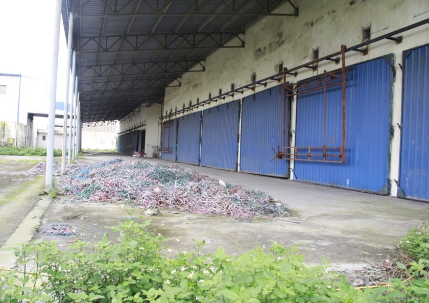 A deserted industrial zone in Hai Duong Province in northern Vietnam. Photo: Le Quan