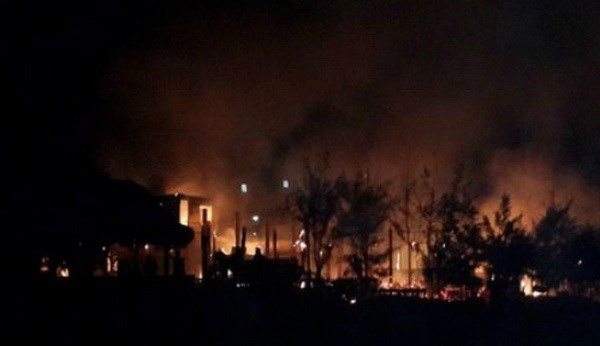 Hundreds of visitors flee Vietnam resort fire