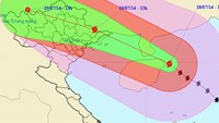 Warm seas strengthen Rammasun as it nears northern Vietnam