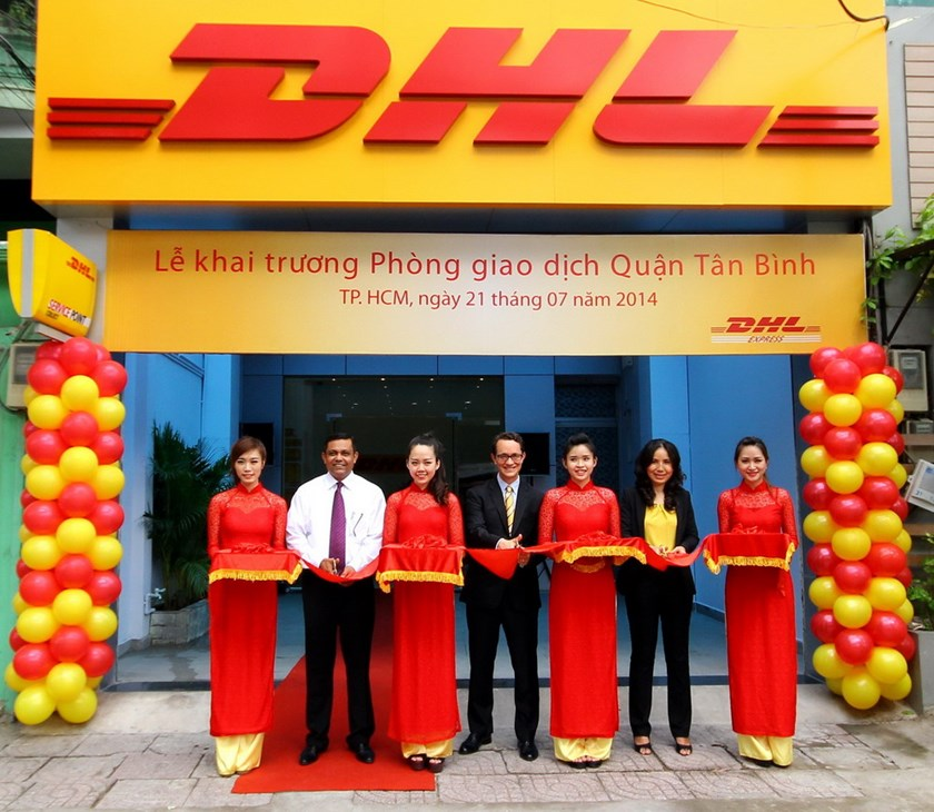 DHL opens new DHL service point in Ho Chi Minh City