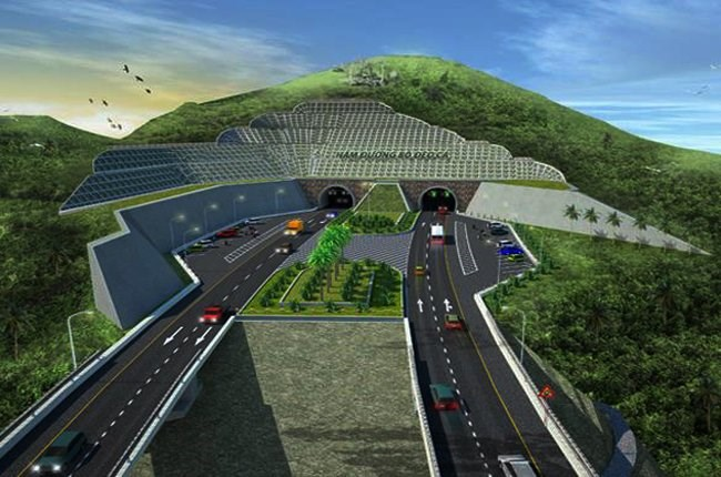 A digital rendering of the Ca Pass Tunnel being built in central Vietnam. Photo credit: Ca Pass Invesetment JSC