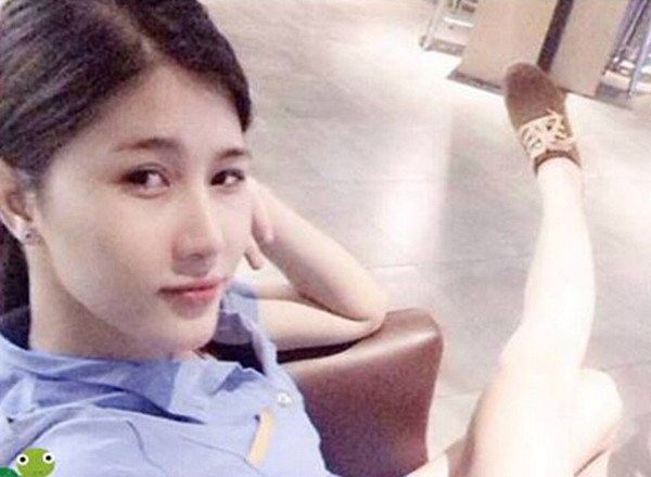 A Facebook photo of transgender TV star Tram Anh who was arrested in Hanoi on September 29, 2014 while attempting to resell 2.6 grams of ecstasy.