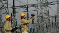 An electricity project in southern Vietnam. Photo credit: Vietnam News Agency