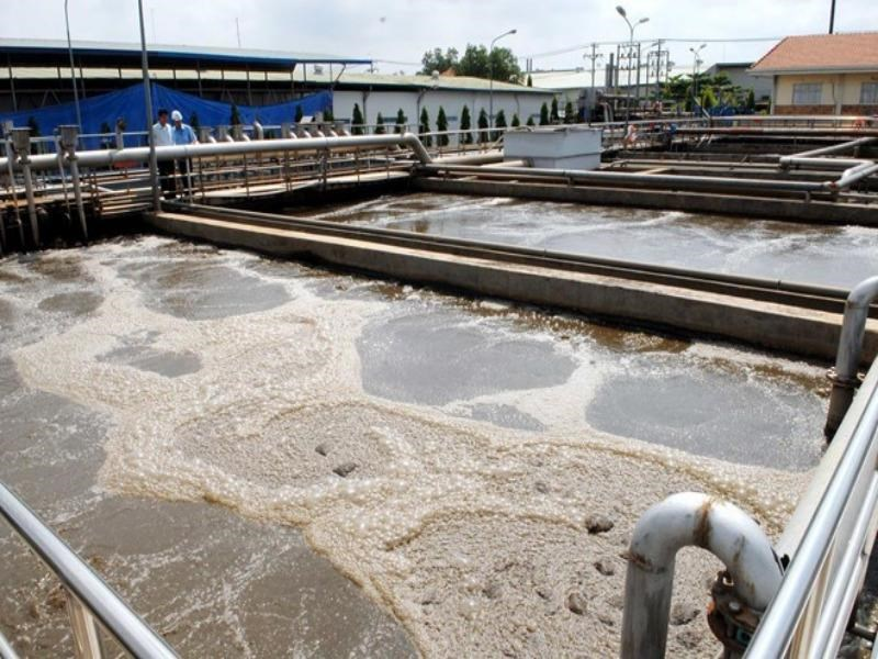 Sewage treatment tanks in Dong Nai Province. Photo credit: Vietnam News Agency