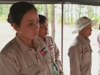 MAG's female de-mining group clears Quang Tri with care