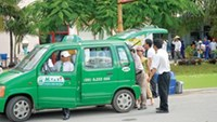 A Mai Linh taxi in Ho Chi Minh City. Photo: Diep Duc Minh