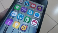 Vietnam's telecommunication authorities want providers of OTT apps like Viber, Zalo, WhatsApp to put servers in Vietnam or obtain a local license if they charge a user fee. Photo: Thuy Vi