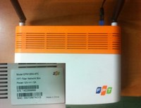 A wireless modem made in China that FPT provided to its users. Photo: Thanh Luan