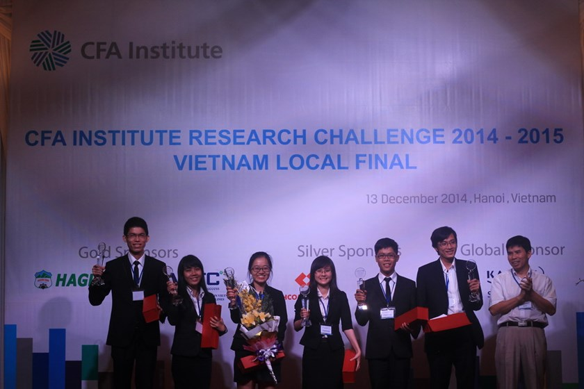 Foreign Trade University Ho Chi Minh City wins CFA Institute Research Challenge Vietnam Final