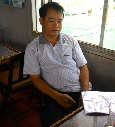 Nguyen Thanh Hai, of the Gia Lai Province Military Unit, has accused his boss of seducing his wife. Photo credit: VietNamNet