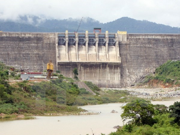 The Song Tranh 2 Hydropower Dam in Quang Nam Province. Photo: Tran Le Lam/Vietnam News Agency
