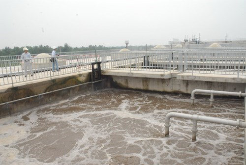 A sewage treatment plant in Ho Chi Minh City. Photo: Diep Duc Minh