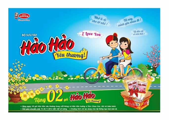 Hao Hao Noodles offers 'Love Package' for Tet