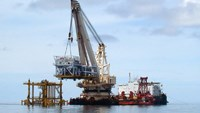 Vietsovpetro's drilling activities off Vung Tau beach town in southern Vietnam. Photo credit: Vietsovpetro