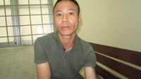 Vu Ngoc Thang, who was arrested by Ho Chi Minh City police with seven kilograms of meth on January 15, 2015. Photo: Nguyen Bao