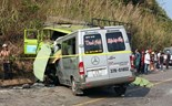 Coach-truck collision kills 9 in central Vietnam