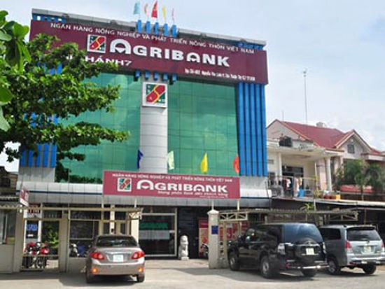 An Agribank branch in Ho Chi Minh City. File photo