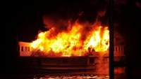 16 foreigners rescued as tourist boat bursts into flames in Ha Long