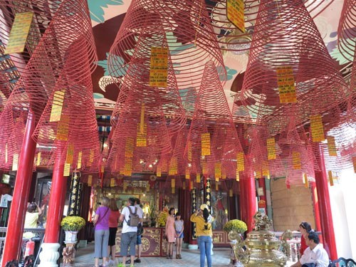 Fujian Pagoda is among the places that tourists can enter for free during Tet. Photo: Dieu Hien