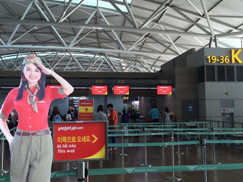 Vietjet offers free air tickets from Hanoi to Seoul