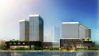A blueprint of Hoang Anh Gia Lai Myanmar Center, which is the biggest property project of the company at the present. File photo