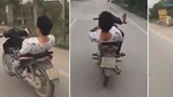 Stunt goes wrong: This is why you should ride your scooter with hands, not feet