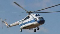 A Mi-8 helicopter on patrol. File photo
