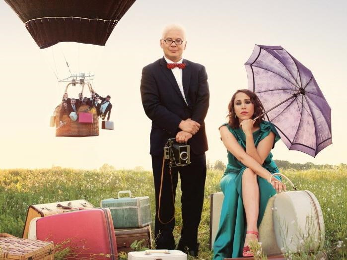 """Little orchestra"" Pink Martini. Photo credit: Poussières De Vie"