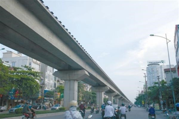 Hanoi's first high-rise railway has been halted after a Japanese firm admitted to having bribed Vietnamese officials to secure the project. File photo